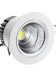 Недорогие -7w 420-500lm 6000-6500K Холодный белый свет потолочное освещение водить (85-265В)