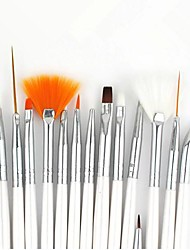 15PCS Nail Art Painting Brush Kits