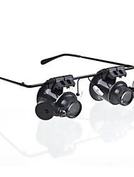 Недорогие -Очки Тип 20X Лупа с белым светом СИД (4xCR1620)