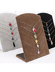 Jewelry Displays Flannelette / Paper Geometric Coffee / Black / Gray