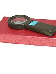 abordables -60mm de poche loupe 5x avec éclairage 8-conduit