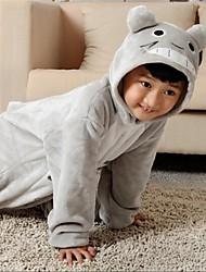Kigurumi plišana pidžama Mačka Totoro Onesie pidžama Kostim Flanel Flis Cosplay Za Dijete Zivotinja Odjeća Za Apavanje Crtani film Noć