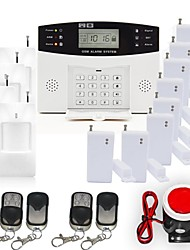 cheap -433MHz Wireless Keyboard SMS Phone 433MHz GSM Sound Alarm Telephone Alarm SMS Alarm Local Alarm Home Alarm Systems Y