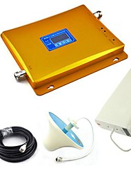 Display LCD GSM e 3G W-CDMA Mobile Phone Antenna soffitto Dual Band Signal Booster + Log Periodic Antenna + con cavo