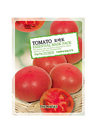 THE MASKS Tomato EssentialMask Pack Cosmetic Beauty Care Makeup for Face