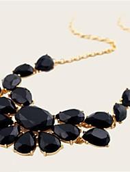 Žene Luksuz Moda Ogrlice s privjeskom Izjava Ogrlice Sintetički gemstones Imitacija dijamanta Legura Ogrlice s privjeskom Izjava Ogrlice ,