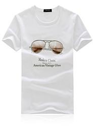 povoljno -Majica s rukavima Muškarci-Chic & Moderna Dnevno Print Print