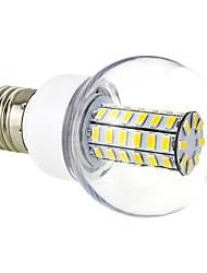 3000 lm E26/E27 LED okrugle žarulje G60 56 LED diode SMD 5730 Toplo bijelo AC 220-240V