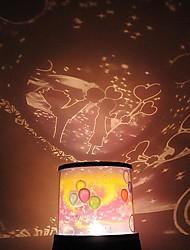 Недорогие -Coway Спиннинг Группа Музыка Bike Любители Звезда проектор LED праздничные атрибуты Рождественский Бордовый