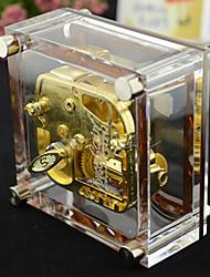 Недорогие -поцеловать золотое покрытие Music Box дождь акриловых