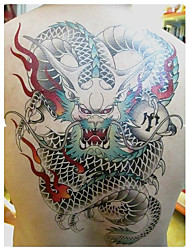 economico -1 Pcs Drogon Waterproof Temporary Tattoo(33cm*24cm)