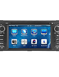 "baratos -cusp® 6.2 ""2 din carro dvd player para 2007-2010 jeep / comandante / wrangler com bluetooth, gps, ipod, RDS, pode-bus"
