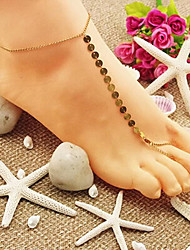 shixin® classico Shinning i sandali a piedi nudi d'oro (1 pc)