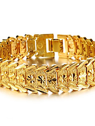 cheap -Women's Gold Plated Cuff Bracelet Bracelet - Stylish Bracelet For Wedding Party Event / Party Dailywear Daily Casual