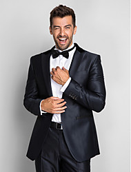 cheap -Tuxedos Slim Fit Slim Peak Single Breasted One-button Polyester