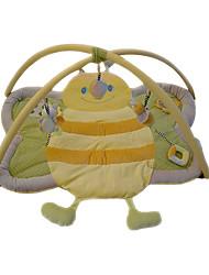 Недорогие -мягкая ползком играть мат прекрасный пчелиный ковер для детей