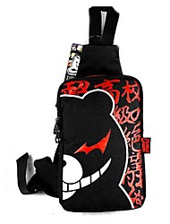 Bag Inspired by Dangan Ronpa Cosplay Anime/ Video Games Cosplay Accessories Bag / Backpack Black Nylon Male / Female