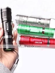 1 Torce LED Torce Clip e staffe di montaggio LED 1000 Lumens 3 Modo Cree XM-L T6 Messa a fuoco regolabile Resistente agli urti