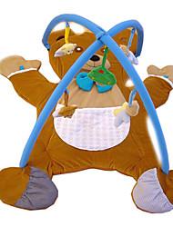 Недорогие -мягкая ползком играть мат медведь ковер ребенка