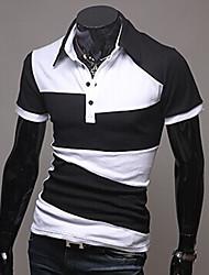 baratos -Homens Camiseta Clássico Clássico,Art Deco