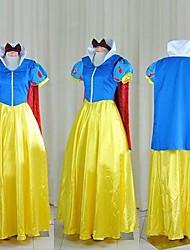 billige -Snehvid / Prinsesse / Eventyr Cosplay Kostumer / Festkostume Herre / Dame Halloween Festival / Højtider Halloween Kostumer Patchwork