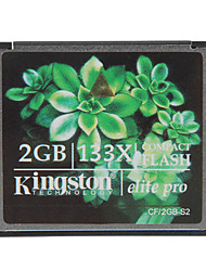 billige -Kingston 2GB elite pro 133x compact flash CF-hukommelseskort