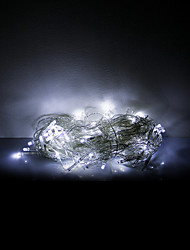 cheap -3x0.6x0.4M 100 LEDs Halloween decorative lights festive strip lights-White icicle lights (220V)