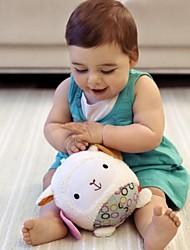 Недорогие -погремушка форма ягненка ребенка шаровые мягкого хлопка игрушки