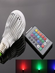 cheap -1pc 10 W 800 lm E26 / E27 LED Smart Bulbs 1 LED Beads High Power LED Remote-Controlled / Decorative / Color Gradient RGB 85-265 V / RoHS