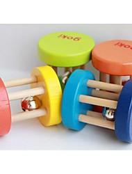 Недорогие -ГОКи 5 х 4 см деятельность деревянный колокол погремушки ребенка коляска кроватки игрушку