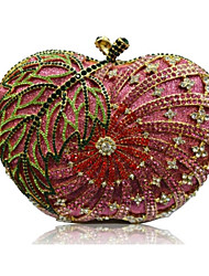 Women Bags All Seasons PU Evening Bag for Event/Party Fuchsia