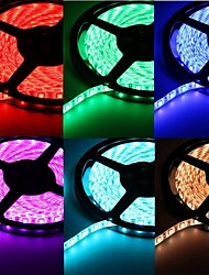 billige -5M 75W 300x5050 SMD LED DC12V IP68 Waterproof Strip Light + Remote Control RGB