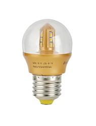 E26/E27 Lampadine globo LED 12 SMD 2835 240 lm Bianco caldo 3000 K Decorativo AC 220-240 V