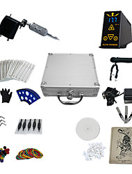 preiswerte -1 Gun Complete No Ink Tattoo Kit with Black Plastic Motor Machine
