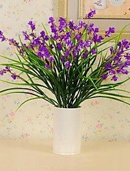 1 bunch Plastic Silk Cloth High-quality Simulation Iris Flower