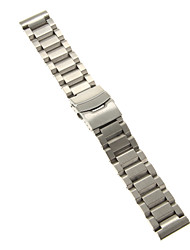 cheap -22mm High Quality Precise Stainless Steel Watchband Cool Watch Unique Watch
