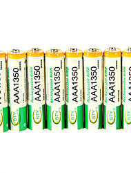 cheap -High Quality 1350Mah Bty Ni-Mh Aaa 1.3V Rechargeable Battery 8Pcs
