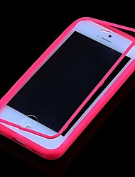 cheap -CaseBox® Solid Color Transparent Full Body Case for iPhone 5C
