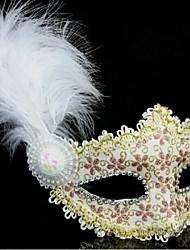 Недорогие -toonykelly® 1шт кожа с кристально Глод цветок Визард маски принцессы