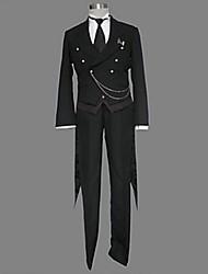 Ispirato da Cosplay Cosplay Anime Costumi Cosplay Abiti Cosplay Collage Manica lunga Canottiera Pantaloni Smoking Cravatta Per Uomo Donna