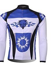 XINTOWN Muškarci Dugih rukava Biciklistička majica Bicikl Ugrijati, Quick dry, Ultraviolet Resistant