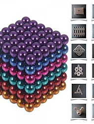 cheap -Magnet Toy Building Blocks Neodymium Magnet Magnetic Balls Buckyballs 216pcs 5mm Magnet Magnetic Toy Gift