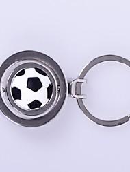 Недорогие -Футбольный мяч узор металла серебряные брелок игрушки