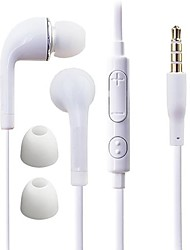 cheap -DF White Blue Plate 3.5mm In-ear Earphone with Line Control for Samsung S4/S5 All Andriod Phones