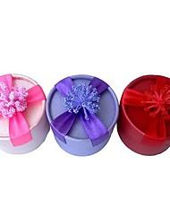 1pc lureme mode lavande boîte à bijoux pour les vacances et la fête (couleur aléatoire)