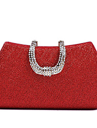 Women Bags All Seasons Polyester Evening Bag Sequin for Event/Party Gold Black Silver Red