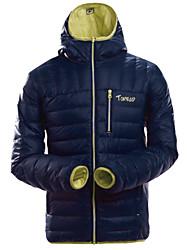 Per uomo Giacca da sci Ompermeabile Asciugatura rapida Antivento Isolato Anti-polvere Traspirante Piumini Giacca invernale Giacca di