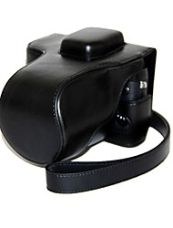 Dengpin® Leather Detachable Protective Camera Case Bag Cover for Fujifilm X-T1 XT1 with 18-55mm Lens