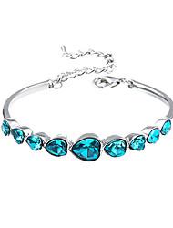CS корейский стиль моды кристалл элегантный браслет