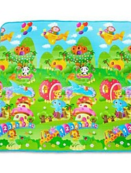 Недорогие -животные ребенка играть и ползать коврик Playmat 200 х 180 см